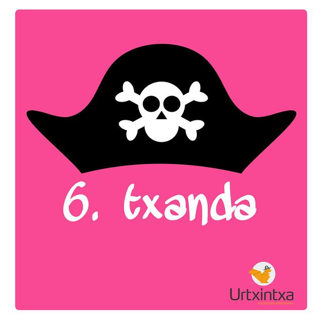 Udaleku Piratak 2019 - 6.txanda