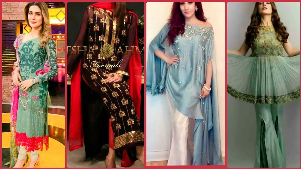 Latest Trendy Collection Of Designer Party Wear Dress Desi