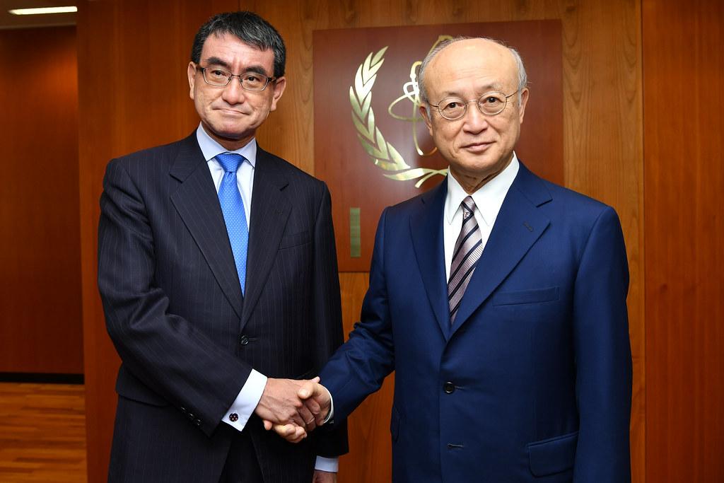 Taro Kono & Yukiya Amano (01911020)