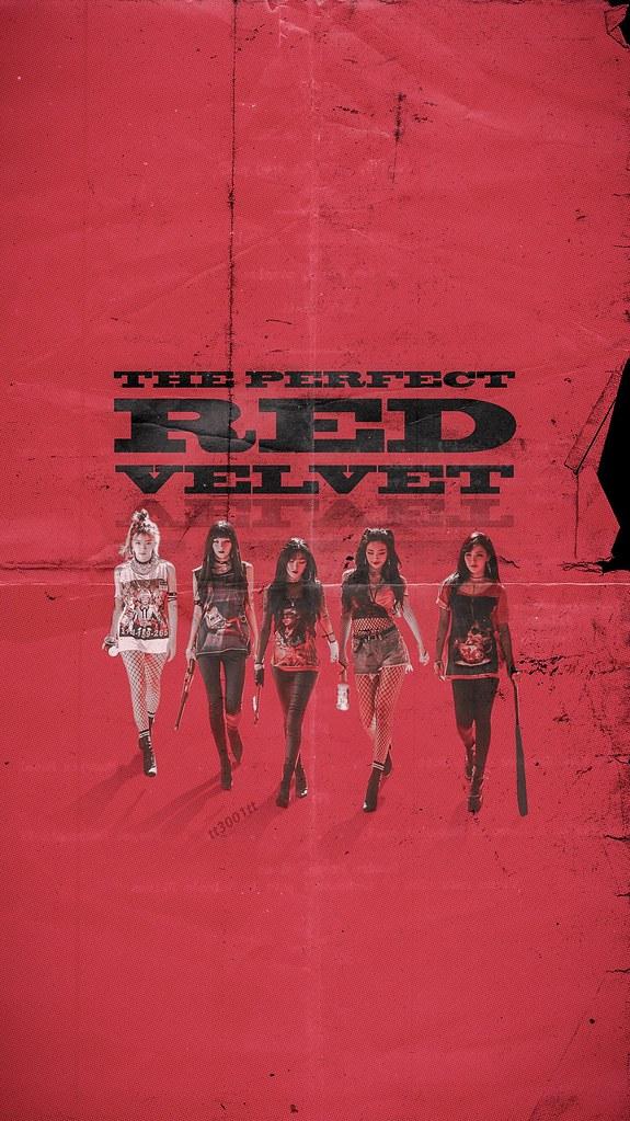 Red Velvet Iphone Lockscreen Wallpaper Tt3001tt Flickr