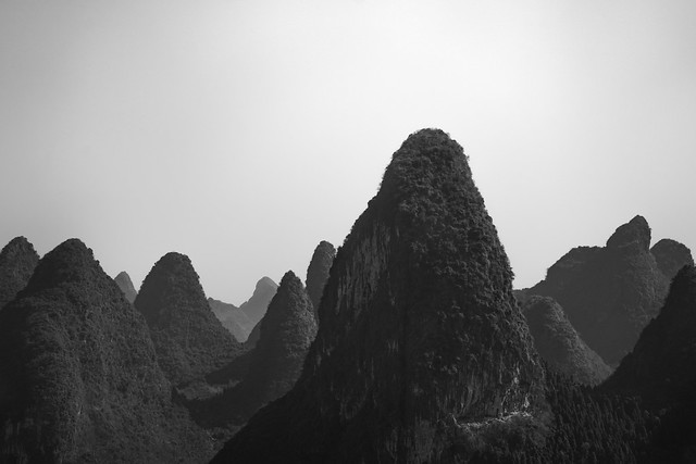 The boats of Guilin
