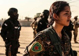 Kurdish YPG Fighters | by Kurdishstruggle