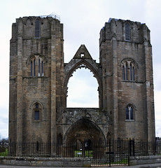 elgin cathedral west towers