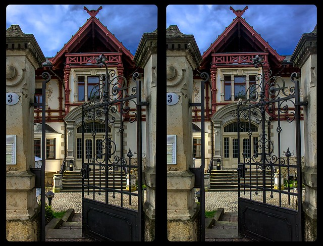 Open door 3-D / CrossView / Stereoscopy / HDRaw