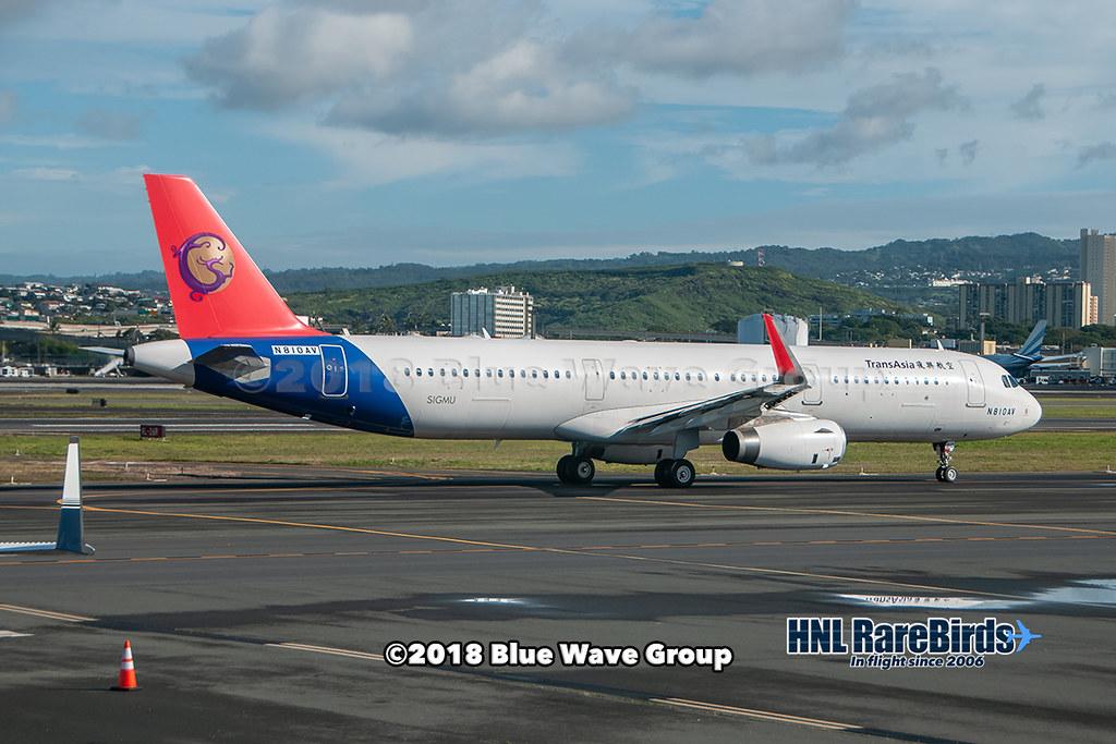 TransAsia Airways N810AV
