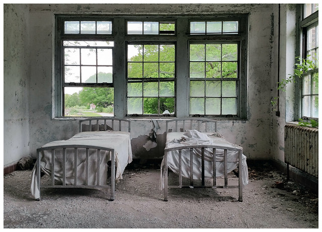 2015 - Galaxy S5 Edit - Norwich State Hospital, Connecticut