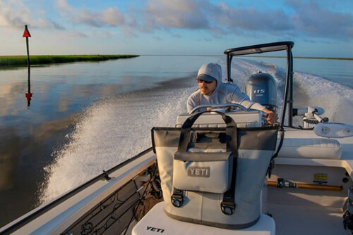 A slicked out early morning run in the Lowcountry for  captainshafter.