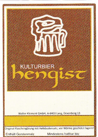 Austria - Walter Klement GmbH - Kulturbrauerei Hengist (Hengsberg)