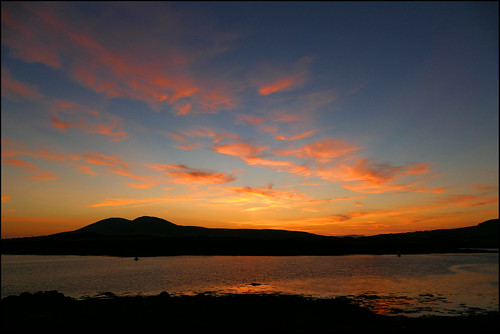 mannix point cahersiveen kerry ringofkerry ireland sunset sky mountains sea fz1000