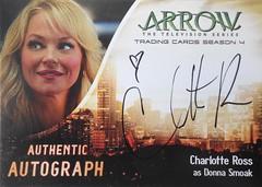 Arrow Season 4 - Auto CR - Charlotte Ross as Donna Smoak