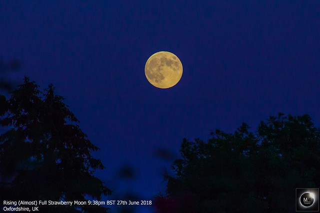 Rising Strawberry Moon 27/06/18