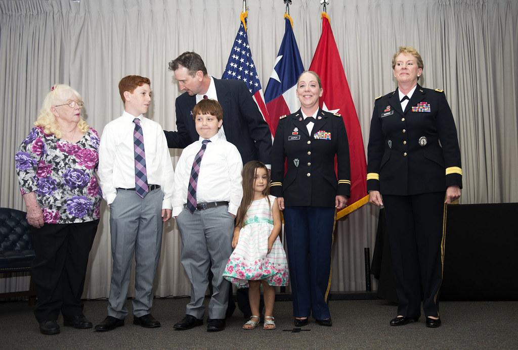 LTC Dupuy Promotion Ceremony | Texas Military Department