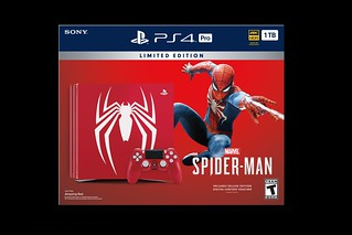 Limited Edition Marvel's Spider-Man PlayStation 4 Pro Bundle   by PlayStation.Blog