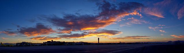 Sunrise @ McCarran Airport