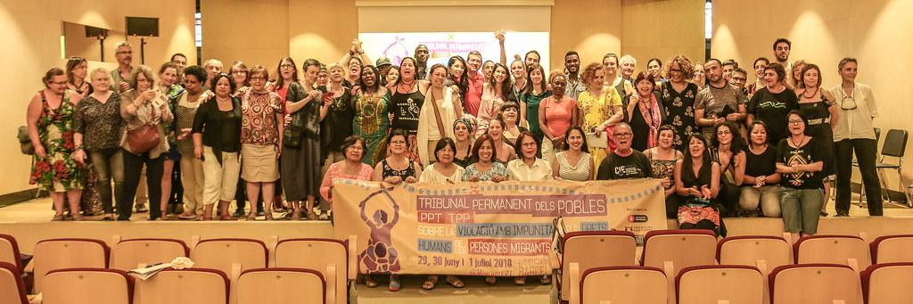 Tribunal Permanent dels Pobles (TPP). Sessió 1 juliol 2018