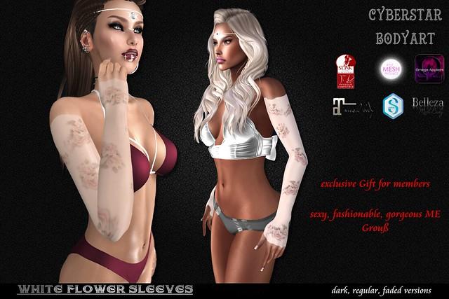 CBATGroupGift-whiteFlowerSleeves-Vendor