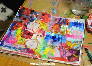 Art Journal spread   by iHanna