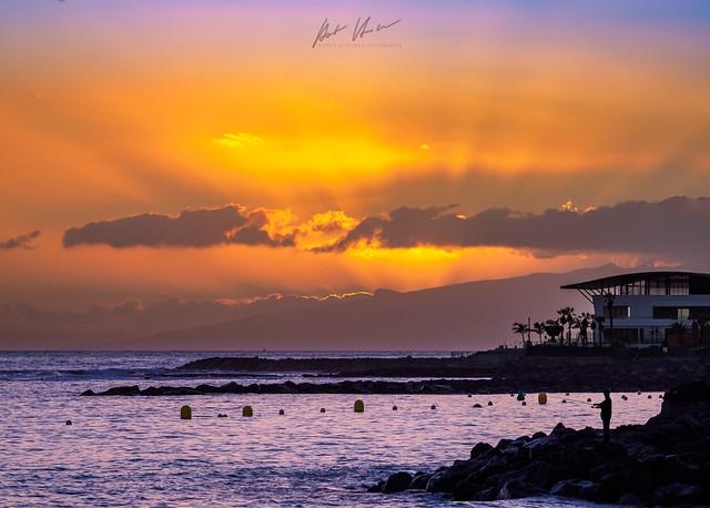 Sonnenuntergang auf Teneriffa / sunset at teneriffe