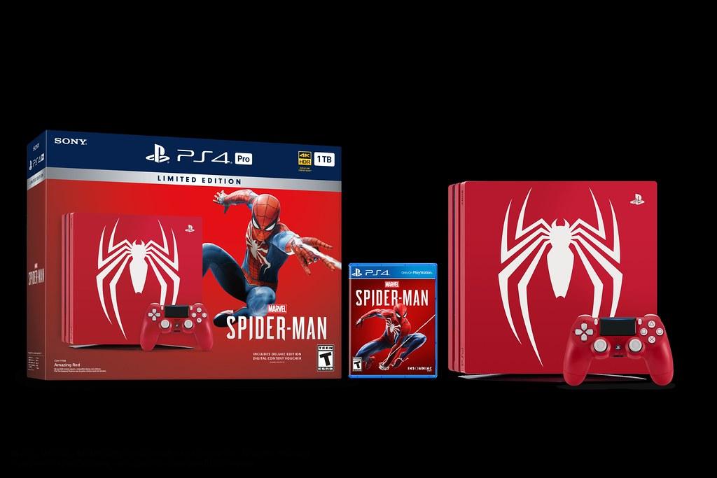 Limited Edition Marvel's Spider-Man PlayStation 4 Pro Bund… | Flickr