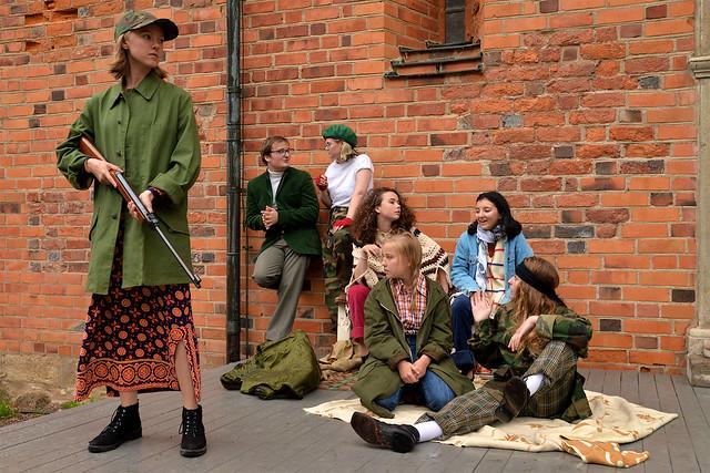 Agnes Jakobsson, Oliver Jensen, Robin Angerd, Alice Rauber Pålsson, Sofia Brink, Signe Roos, Frida Onn-Åström