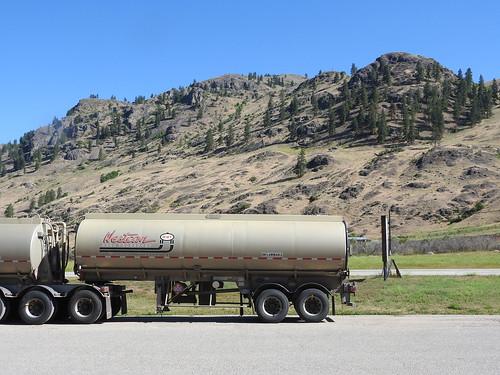 truck trailer fuel landscape midway bc interior