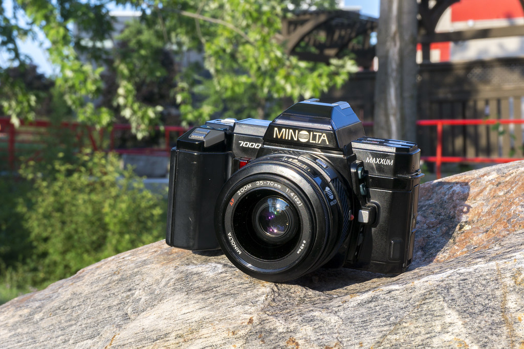 Camera Review Blog No. 97 - Minolta Maxxum 7000