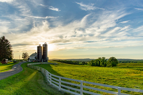 grass shadow landscape sunset mountian sony rural diary trees cloud rokinon12mm road tree orangecounty silo equipment warwick sky farm a6000 barn tools fence newyork unitedstates us