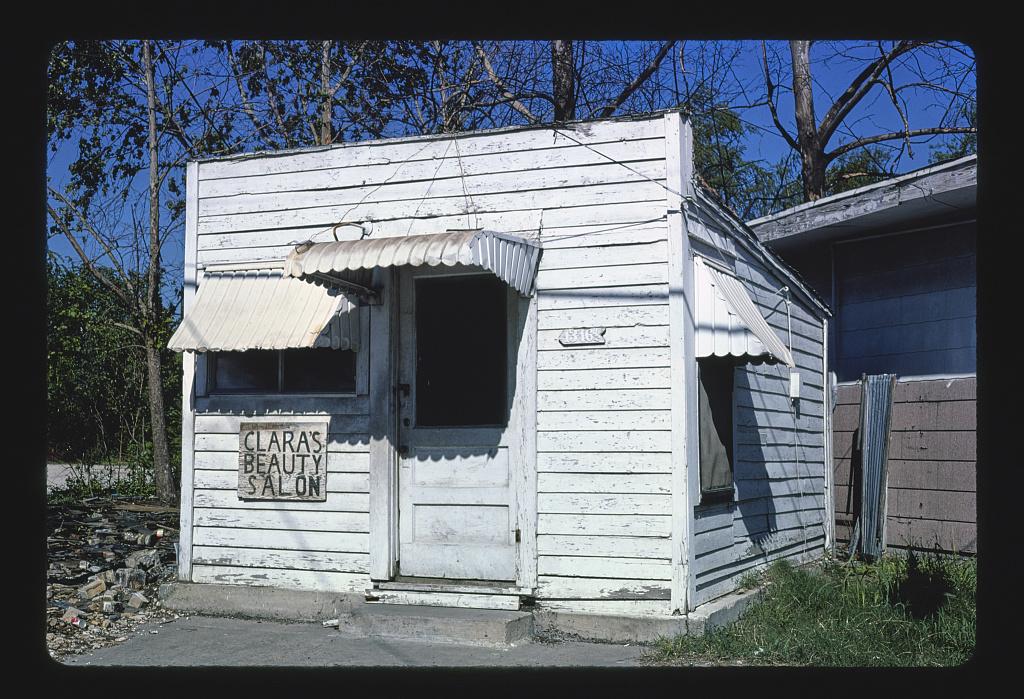 Clara's Beauty Salon, Jensen Drive, Houston, Texas (LOC)