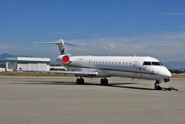 C-FJXB Canadair CRJ.700 Regional 1 Airlines YVR 17JUL18