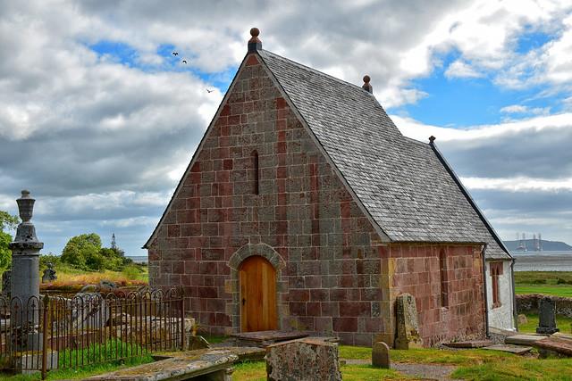 Kirkmichael Church Newhall Point
