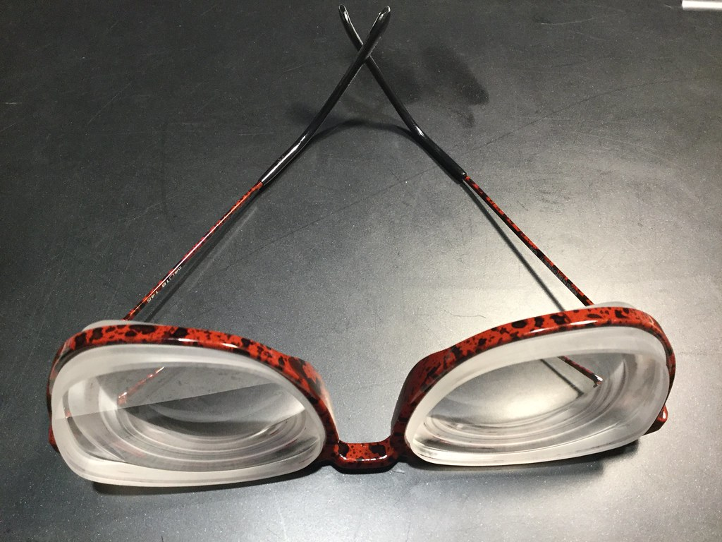 8901ab5ca5d3 Thick lenses 80s frame | These 1980s frames were what I wore… | Flickr