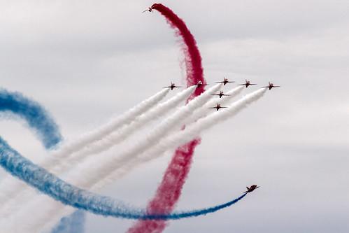 Red Arrows   by Dom Regan Photographic