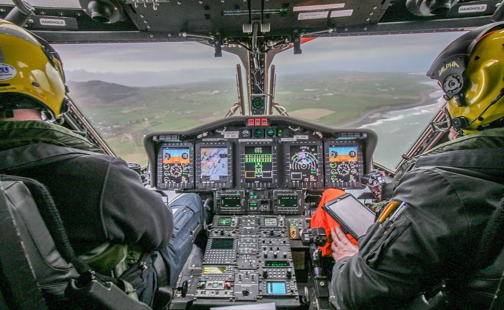 Cockpit View Ireland | If you like helicopters check out my … | Flickr