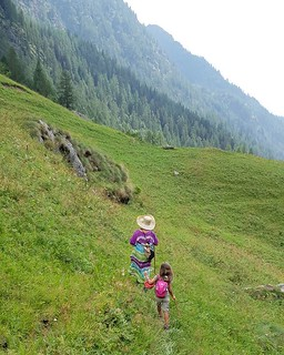 Walking in the Mountains #mountain #path #walk #walking #summer #gressoney #valdaosta #travelgram #mylittlebabygirl #Margherita #igers #igersitalia #photooftheday #picoftheday #fun #family | by Mario De Carli