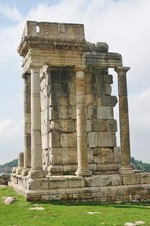 Roman Temple ruins in Machnaga, Batroun district
