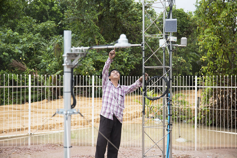 Cambodia - Strengthening Climate Information and Early Warning Systems
