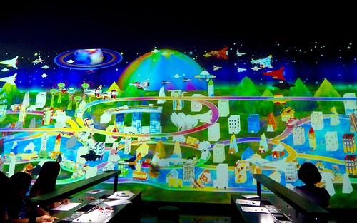 teamLab at ArtScience Museum: Future World | by wordingart
