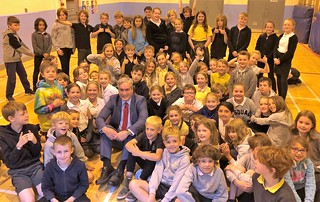World of Work assembly at East Linton primary | by Iain Gray MSP