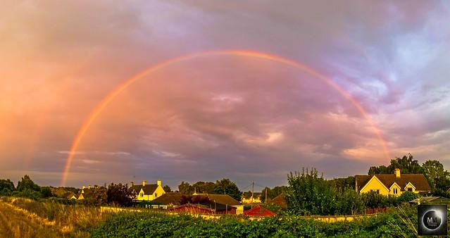 Double Rainbow 20:27 BST 26/07/18
