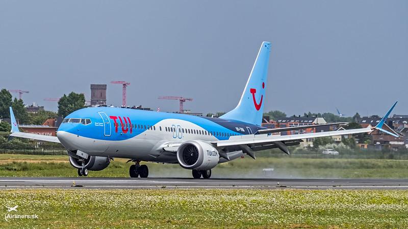 OO-TMA TUI Airlines Belgium Boeing 737-8 MAX