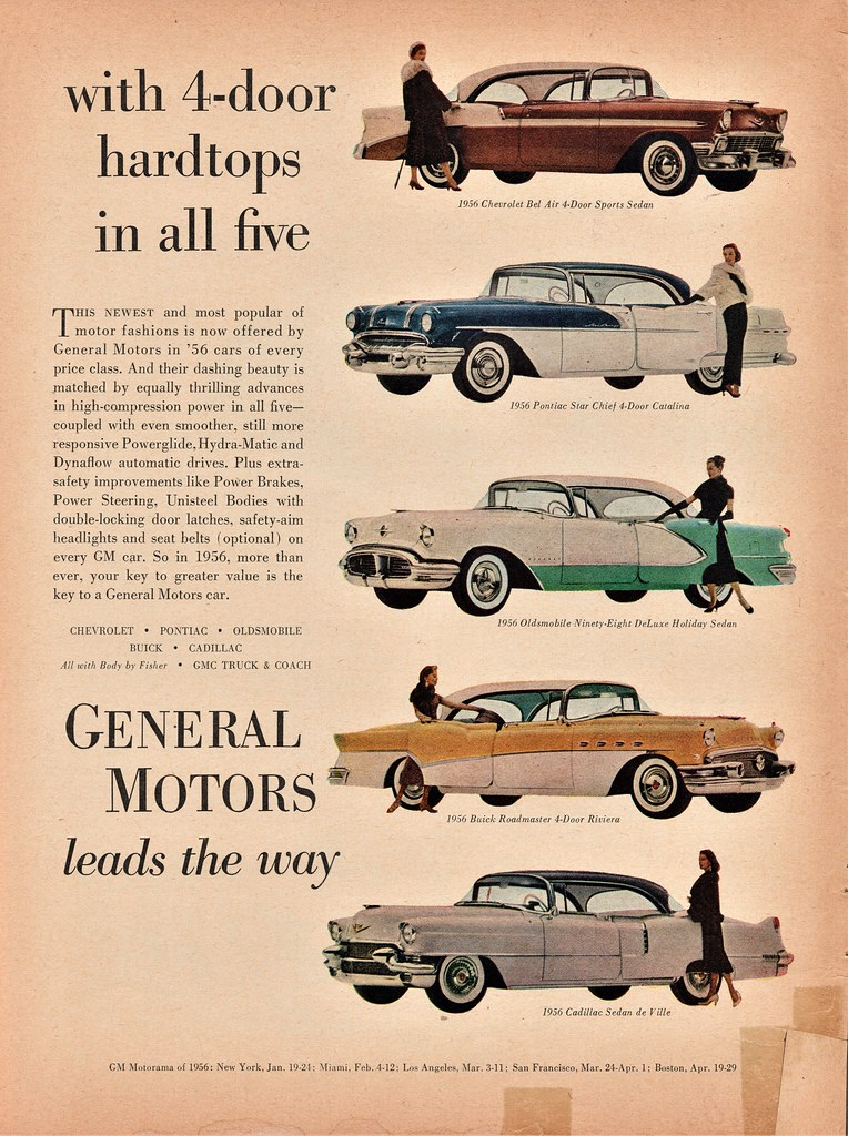 1956 GM Cars | Alden Jewell | Flickr