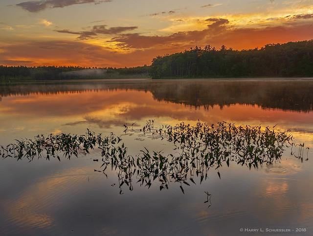 Greenwood Pond Sunset