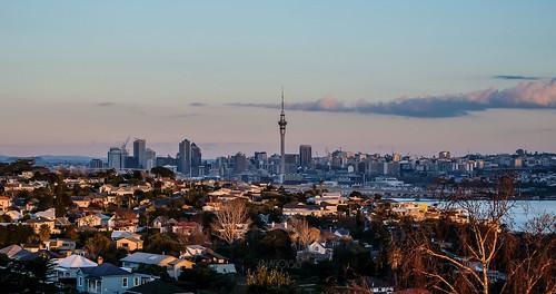auckland newzealand city cityscape