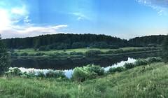 Угра река близ Колыхманово / Юхнов / Калужская область / Россия