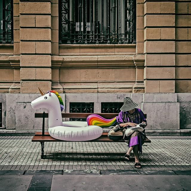 ... La dama y el unicornio ...