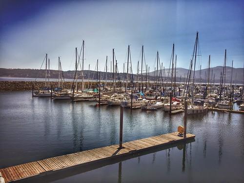 johnwaynemarina sequimwashington marina water iphone sequim