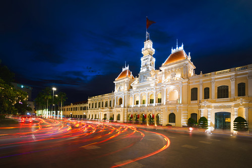 architecture asia asian building chi city cityhall cityscape classic colonial committee culture dusk famous flag french government hall historic ho indochina journey landmark landscape light minh modern monument night office old people peoples retro saigon square street structure tourism tourist tower town traffic travel twilight urban vietnam vietnamese view vintage hochiminhcity hồchíminh vn