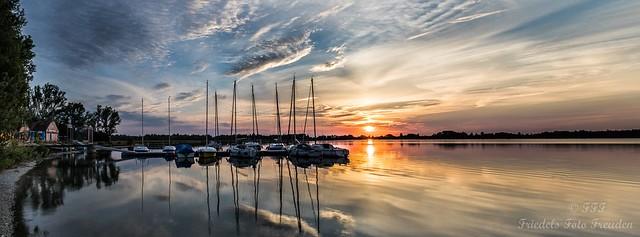 Sunset - Mandichosee