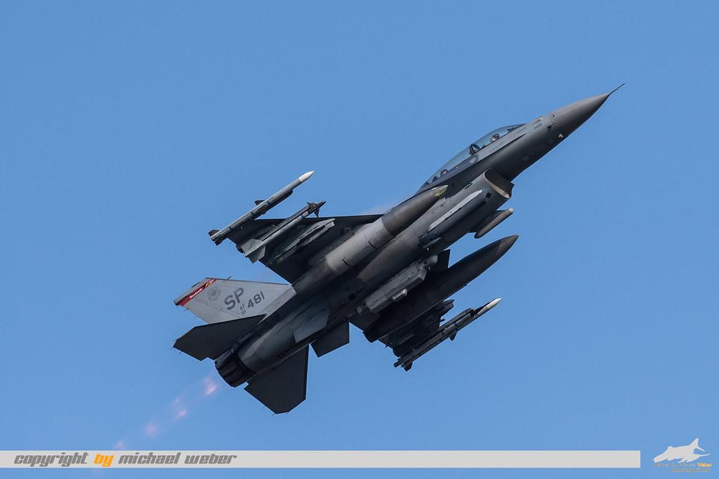 Sabers F16 91-0481 TakeOff | Michael Weber | Flickr