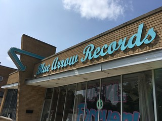 Blue Arrow Records in Cleveland | by DanCentury